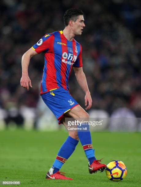 Martin Kelly of Crystal Palace during the Premier League match between Crystal Palace and Arsenal at Selhurst Park on December 28 2017 in London...