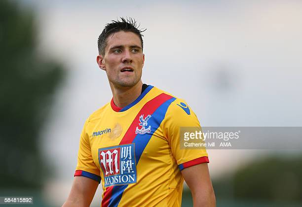 Martin Kelly of Crystal Palace during the PreSeason Friendly match between AFC Wimbledon and Crystal Palace at The Cherry Red Records Stadium on July...