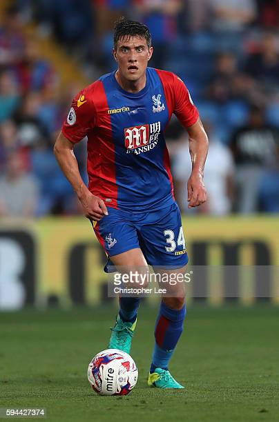 Martin Kelly of Crystal Palace in action during the EFL Cup Second Round match between Crystal Palace and Blackpool at Selhurst Park on August 23...