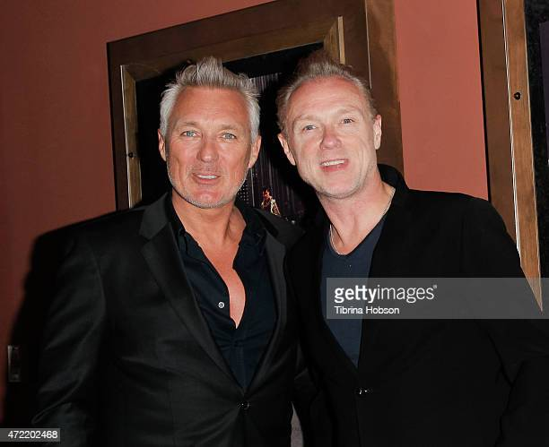 Martin Kemp and Gary Kemp of Spandau Ballet attend the premiere of 'Soul Boys of the Western World Spandau Ballet' at Sundance Cinema on May 4 2015...