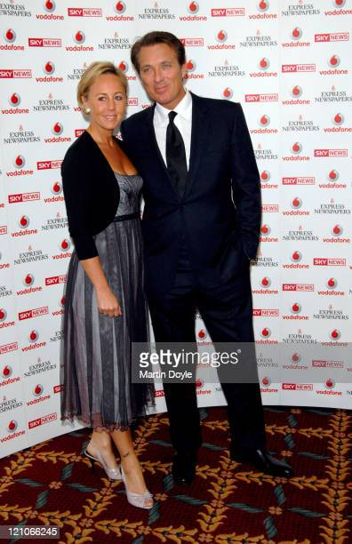 Martin Kemp and Guest during The Vodafone Life Savers Awards 2006 Arrivals at Cafe Royal in London Great Britain