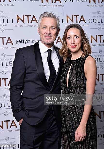 Martin Kemp and Harley Moon Kemp attend the 21st National Television Awards at The O2 Arena on January 20 2016 in London England