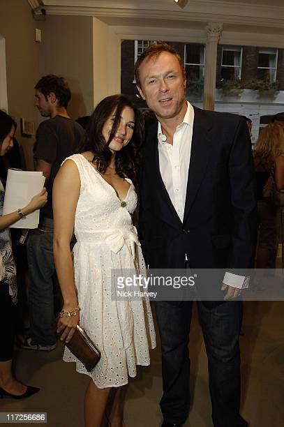 Martin Kemp and his wife Lauren during Robert Mapplethorpe Exhibition Private View at Alison Jacques Gallery in London United Kingdom
