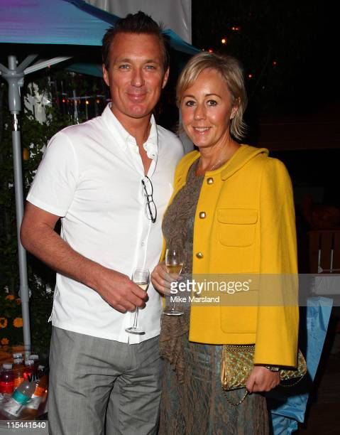 Martin Kemp and Shirlie Holliman attend the Quintessentially Party For 'Nowhere Boy' at la plage vitaminwater during the 62nd International Cannes...