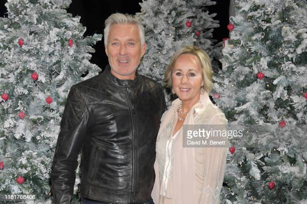 """Martin Kemp and Shirlie Holliman attend the UK Premiere of """"Last Christmas"""" at the BFI Southbank on November 11, 2019 in London, England."""