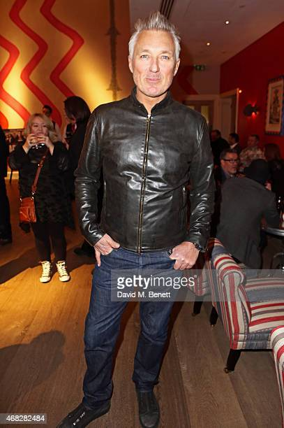 Martin Kemp attends a private screening of 'Age Of Kill' at The Ham Yard Hotel on April 1 2015 in London England
