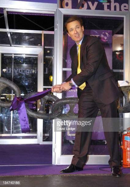 Martin Kemp during Living by the Book Charity Challenge Launch Photocall at East Piazza Covent Garden in London Great Britain
