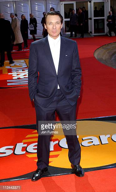 Martin Kemp during The 2004 Brit Awards Arrivals at Earls Court in London Great Britain
