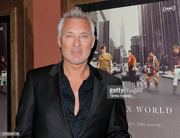 Martin Kemp of Spandau Ballet attends the premiere of 'Soul Boys of the Western World Spandau Ballet' at Sundance Cinema on May 4 2015 in Los Angeles...