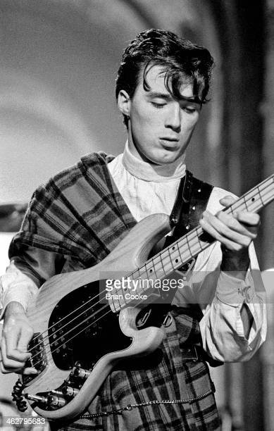 Martin Kemp of Spandau Ballet performing at The London Dungeon Tooley Street London during the filming of a pop video for Chrysalis Records for their...