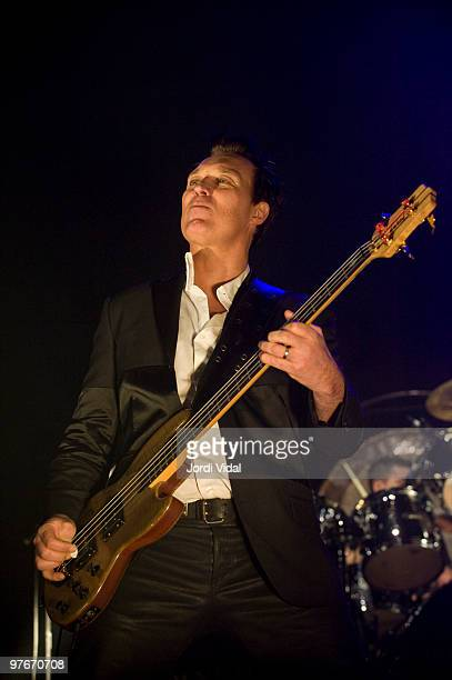 Martin Kemp of Spandau Ballet performs at the Palau Olimpic on March 12 2010 in Badalona Spain