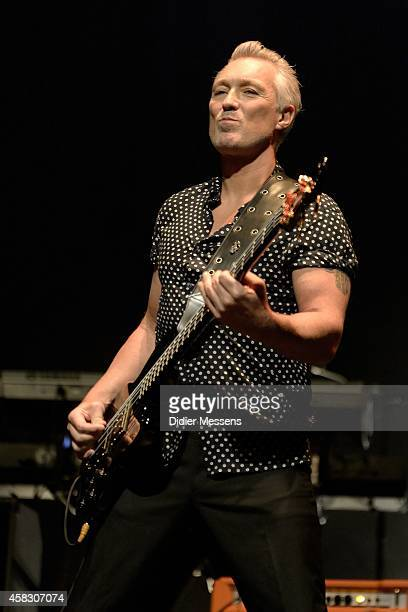 Martin Kemp of Spandau Ballet performs on stage after the screening of the the 'Soul Boys of the Western World' documentary on October 23 2014 in...