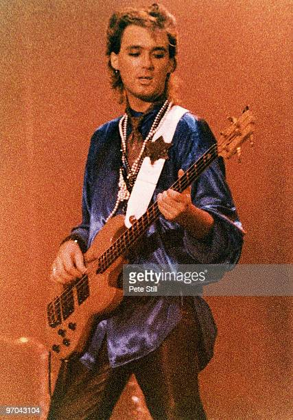 Martin Kemp of Spandau Ballet performs on stage on the 'Parade' tour at Wembley Arena on December 8th 1984 in London England