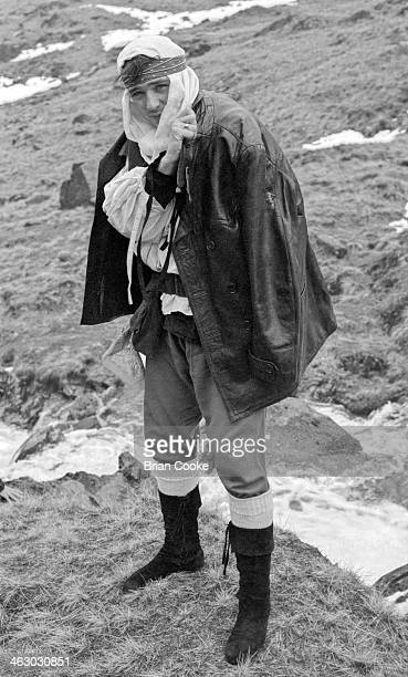 Martin Kemp of Spandau Ballet photographed on location in the Kirkstone Pass Lake District Cumbria during the shooting of a promotional film for...