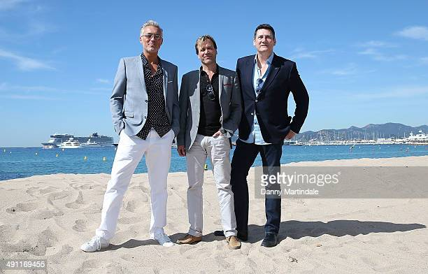 Martin Kemp Steve Norman and Tony Hadley attends the Soul Boys Of The Western World Photocall at the 67th Annual Cannes Film Festival on May 16 2014...