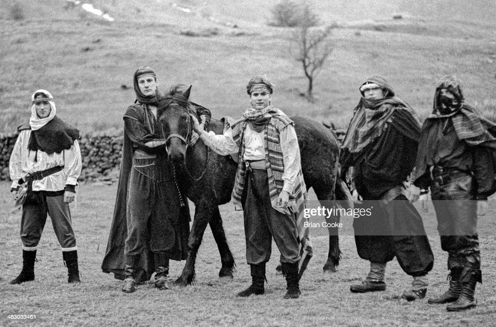 Spandau Ballet Video Shoot In Lake District : News Photo