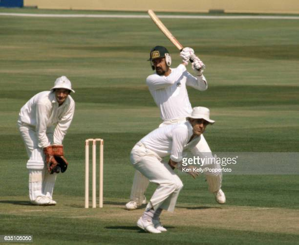 Martin Kent batting for Australia during his innings of 54 in the 6th Test match between England and Australia at The Oval London 27th August 1981...