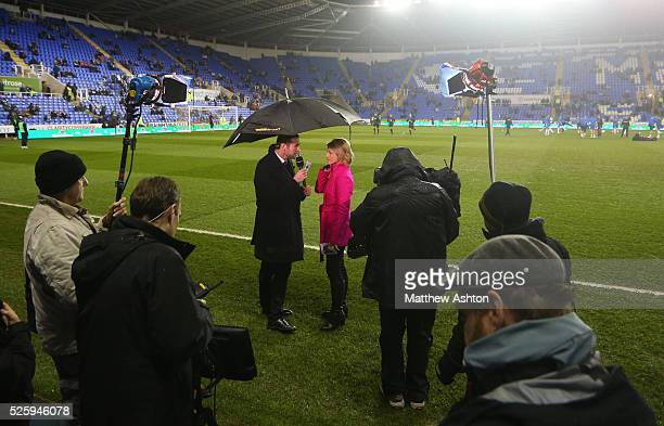 Martin Keown and Jacqui Oatley report pitchside for the BBC