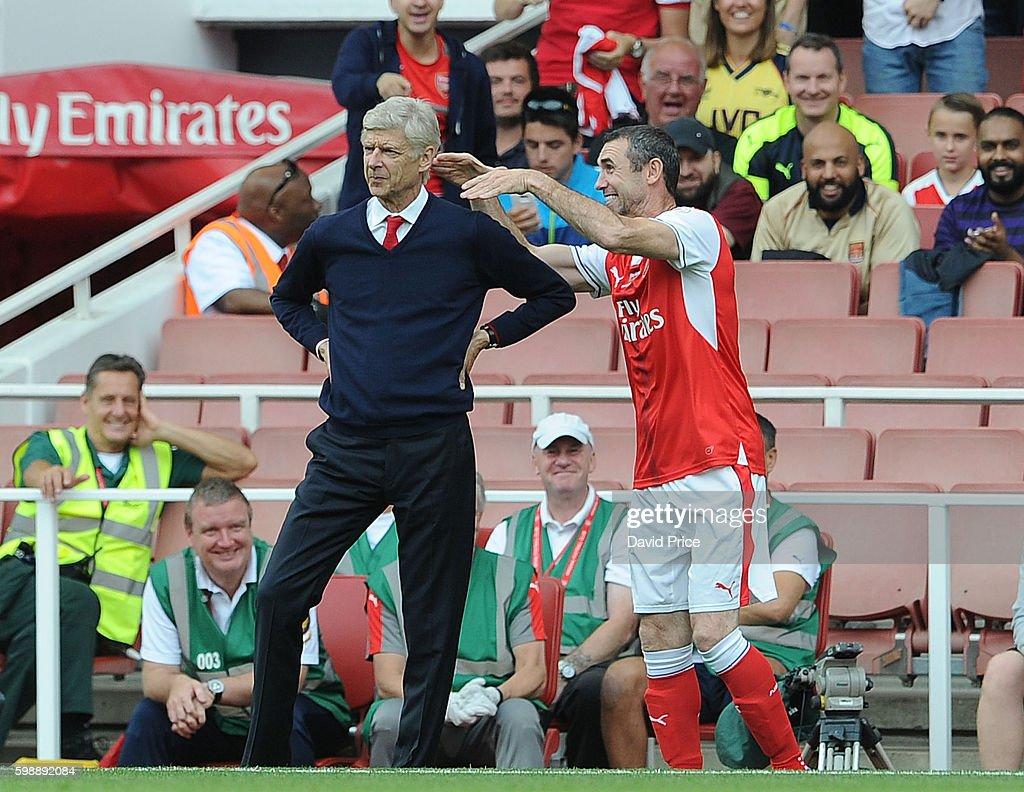 Arsenal Legends v AC Milan Legends