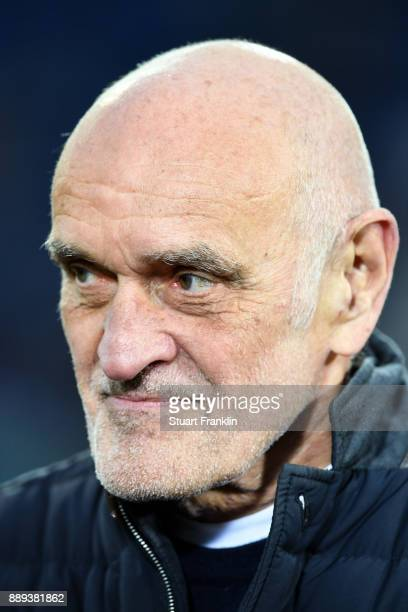 Martin Kind president of Hannover prior during the Bundesliga match between Hannover 96 and TSG 1899 Hoffenheim at HDIArena on December 10 2017 in...