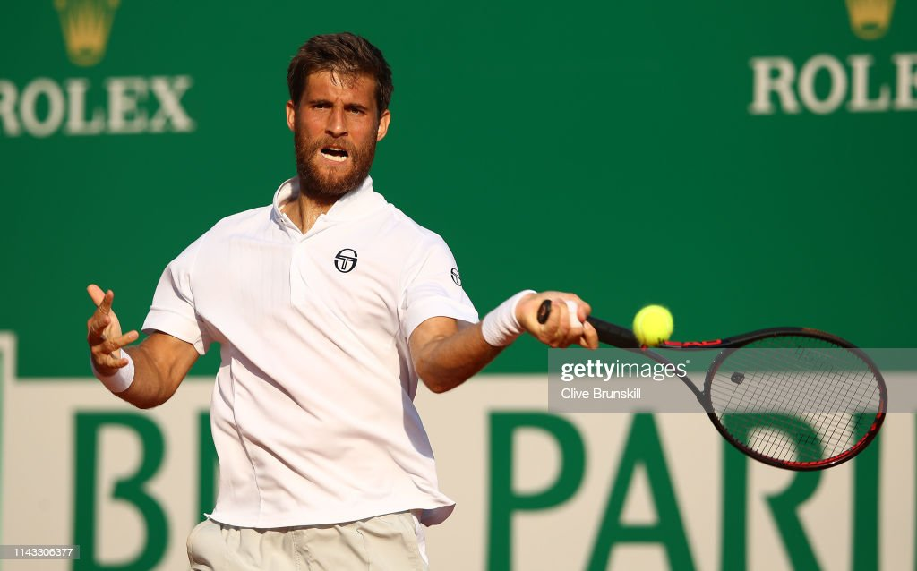 Rolex Monte-Carlo Masters - Day Four : ニュース写真