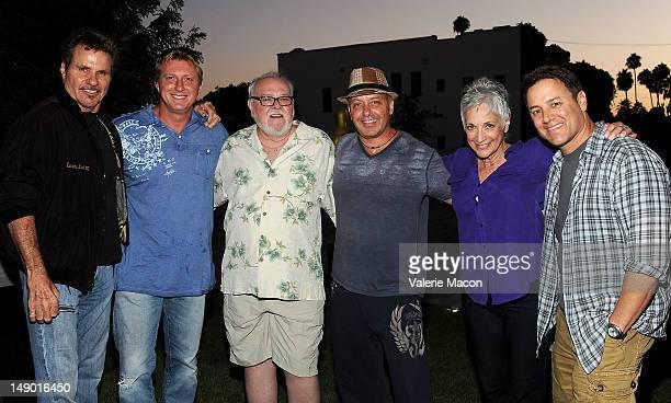 Martin Kove Bud Smith Ron Thomas Randee Heller Tony O'Dell William Zabka and Robert Mark Kamen attend The Academy Of Motion Picture Arts And...