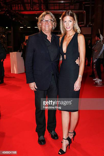 Martin Krug and Julia Trainer attend the Tribute To Bambi 2014 on September 25 2014 in Berlin Germany