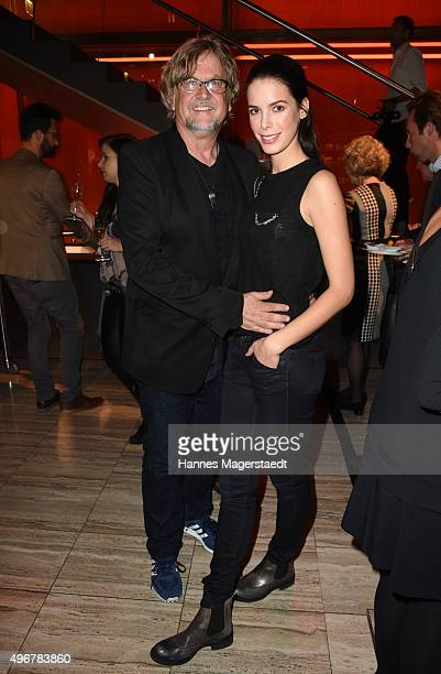 Martin Krug and Julia Trainer during the 'Marcel Ostertag Charity Fashion Show 2015' at Sofitel Munich Bayerpost on November 11 2015 in Munich Germany