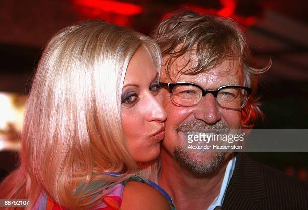 Martin Krug attends with Verena Kerth the Movie Meets Media party at discoteque P1 on June 29, 2009 in Munich, Germany.