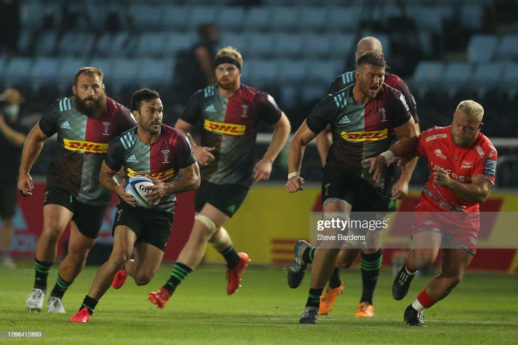 Harlequins v Sale Sharks - Gallagher Premiership Rugby : News Photo