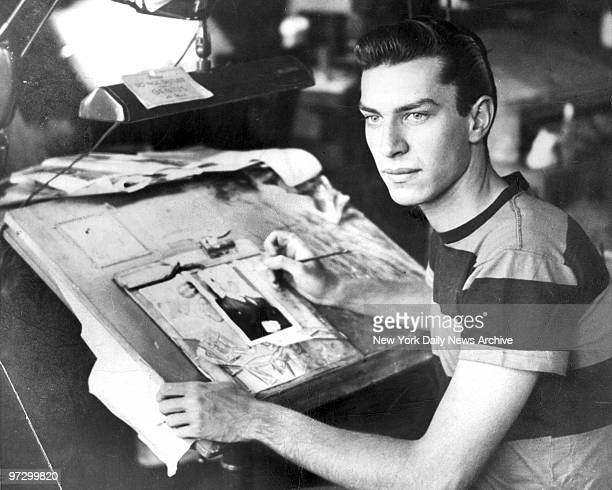 Martin Landau actor and former Daily News Employee Photo shows Landau at work in the Daily News Art Dept in 1951 He left 5 years later to become an...