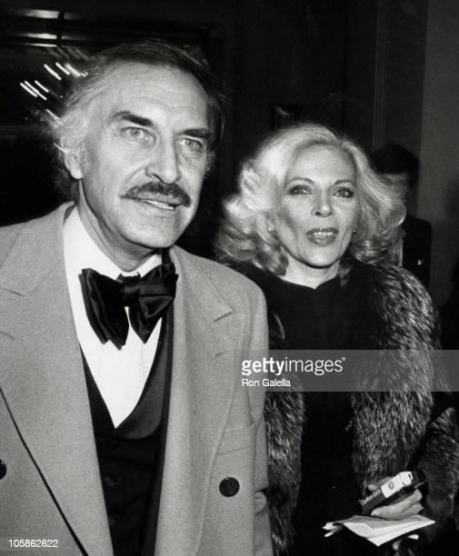 Martin Landau and Barbara Bain during 1st Annual Actors Studio Awards at Waldorf Hotel in New York City NY United States