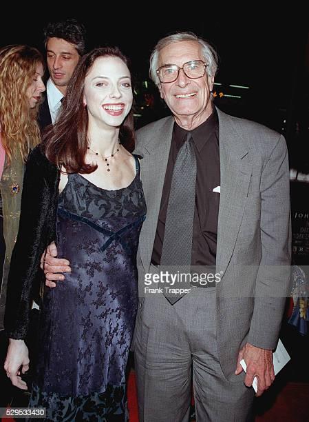 Martin Landau and his daughter Julie