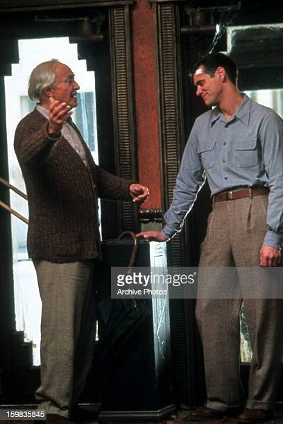 Martin Landau and Jim Carrey in a scene from the film 'The Majestic' 2001