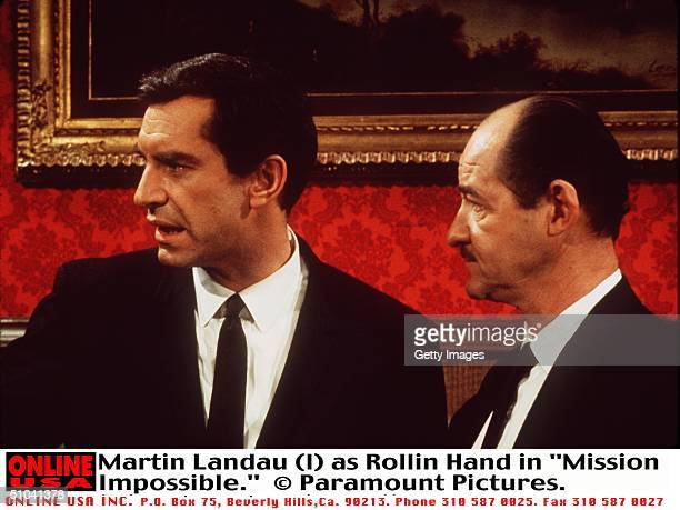 Martin Landau As Rollin Hand In The Television Series 'Mission Impossible'
