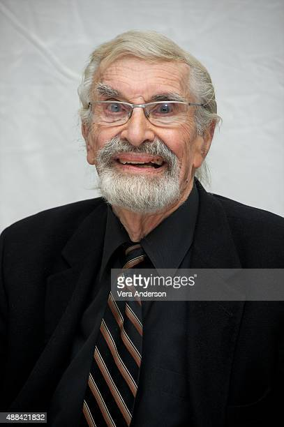 Martin Landau at the 'Remember' Press Conference at the Fairmont Royal York on September 13 2015 in Toronto Ontario