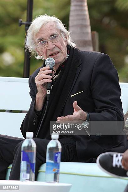 Martin Landau attends the 2009 Los Angeles Film Festival's Poolside Chat REEL LIFE LA at the W Hotel Westwood on June 24 2009 in Westwood Los Angeles...