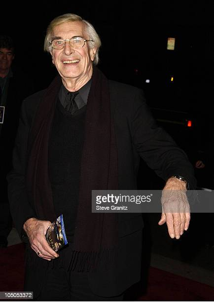 Martin Landau during 'Evelyn' Premiere at The Academy in Los Angeles California United States