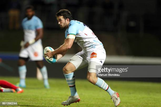 Martin Laveau of Bayonne during the French Pro D2 match between Aviron Bayonnais and Grenoble on September 21 2017 in Bayonne France
