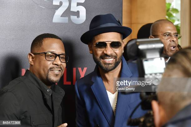 Martin Lawrence and Mike Epps attend Netflix Presents Def Comedy Jam 25 at The Beverly Hilton Hotel on September 10 2017 in Beverly Hills California