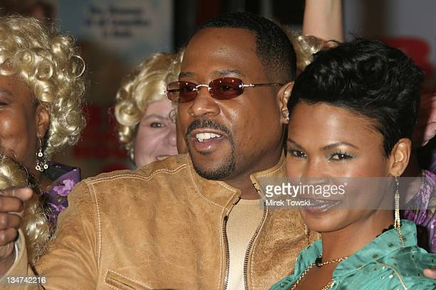 Martin Lawrence and Nia Long during 'Big Momma's House 2' World Premiere at Mann's Grauman Chinese Theater in Hollywood California United States