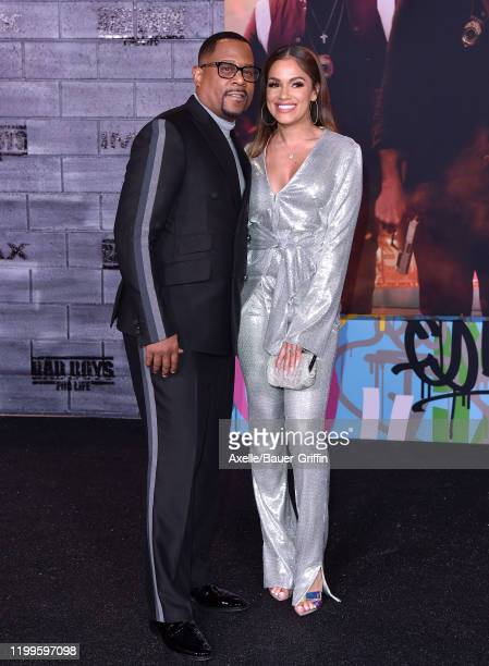 Martin Lawrence and Roberta Moradfar attend the Premiere of Columbia Pictures' Bad Boys for Life at TCL Chinese Theatre on January 14 2020 in...