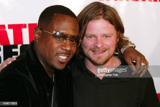 Martin Lawrence and Steve Zahn during Premiere of National Security at Mann Village in Westwood, CA, United States.