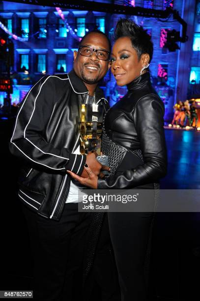Martin Lawrence and Tichina Arnold attend VH1 Hip Hop Honors The 90s Game Changers at Paramount Studios on September 17 2017 in Los Angeles California