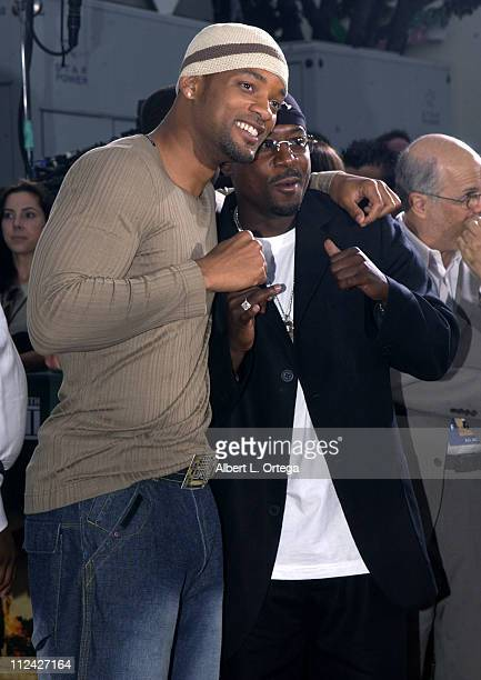 Martin Lawrence and Will Smith during Bad Boys II Premiere in Westwood California United States