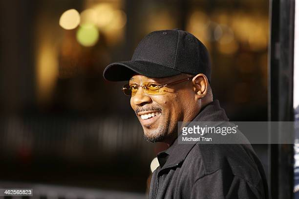 Martin Lawrence arrives at the Los Angeles premiere of Ride Along held at TCL Chinese Theatre on January 13 2014 in Hollywood California