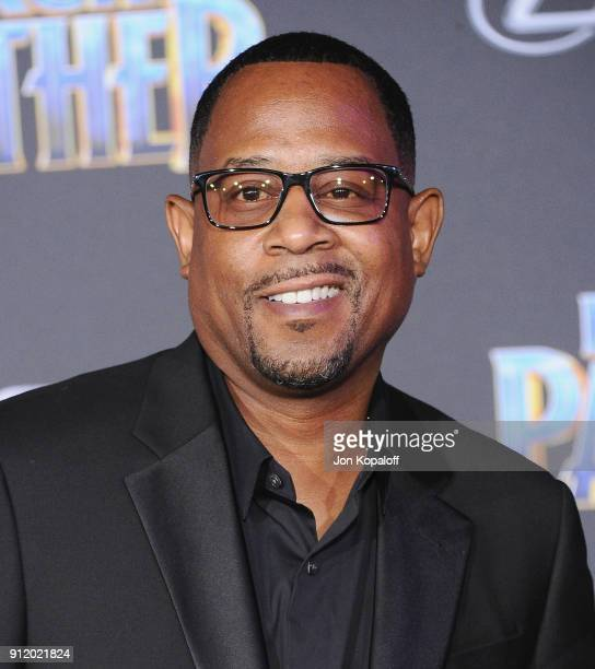 Martin Lawrence attends the Los Angeles Premiere 'Black Panther' at Dolby Theatre on January 29 2018 in Hollywood California