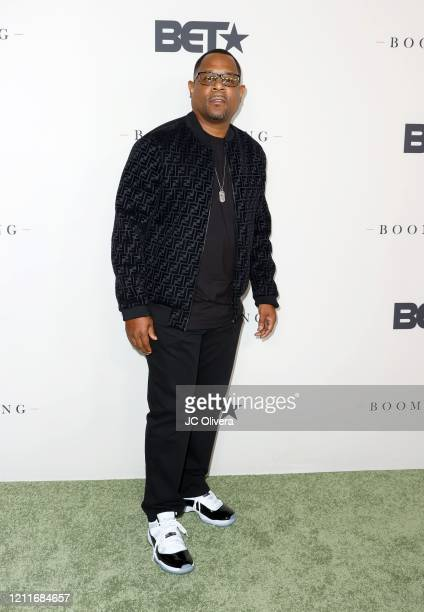 Martin Lawrence attends the premiere of BET's Boomerang Season 2 at Paramount Studios on March 10 2020 in Los Angeles California