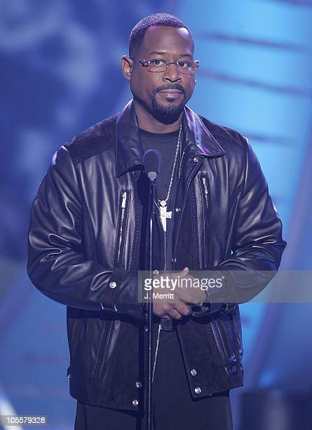Martin Lawrence during 19th Annual Soul Train Music Awards Show at Paramount Studios in Hollywood California United States