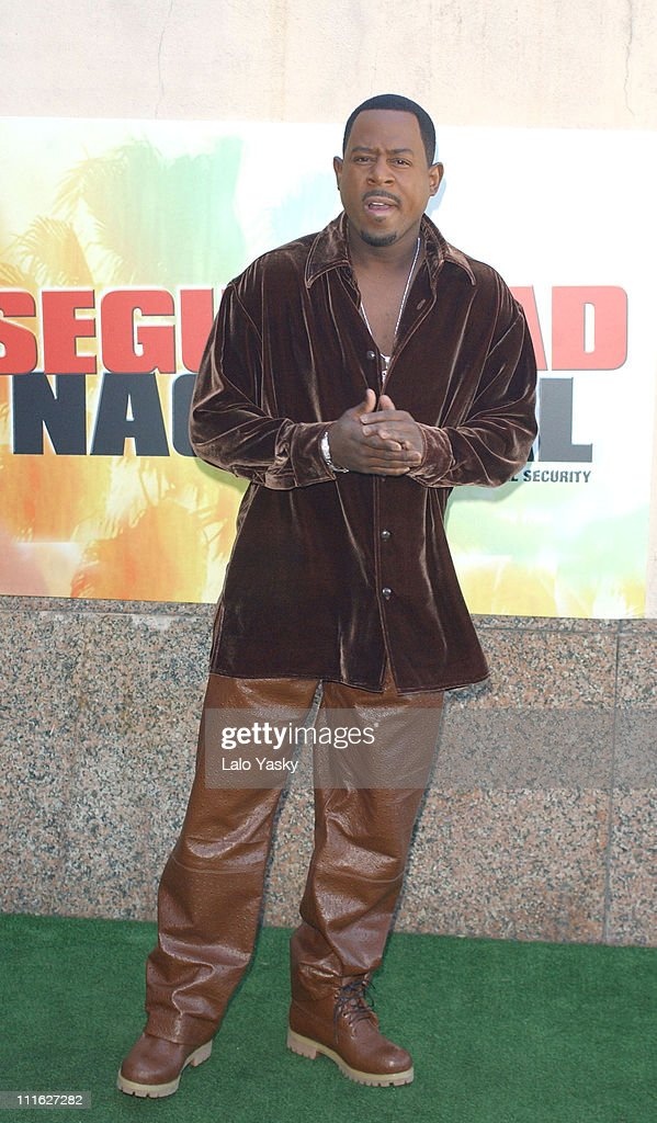 """Martin Lawrence at a Photocall for the Film """"National Security"""" - Madrid"""